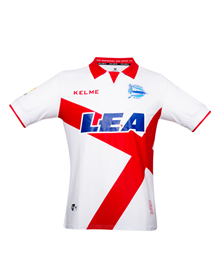 THIRD ALAVÉS JERSEY - WHITE & RED 17/18_image