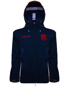 SOFTSHELL JACKET - MAROON & BLUE_image