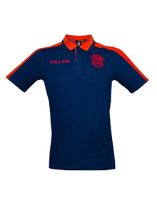 POLO SHIRT - maroon & blue_image