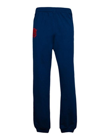 COTTON PANTS - NAVY _image