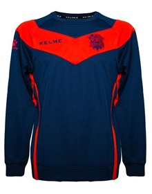 BASKONIA COACH SWEATER - BLUE & RED_image