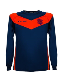 LONG-SLEEVED JERSEY - MAROON & BLUE_image