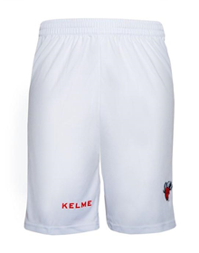 THIRD EUROLEAGUE SHORTS - WHITE & RED_image