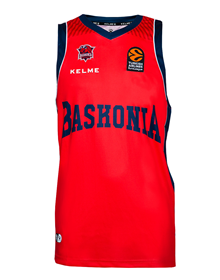 AWAY EUROLEAGUE JERSEY - MAROON & BLUE_image