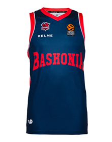HOME EUROLEAGUE JERSEY - MAROON & BLUE_image