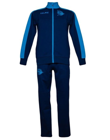 PLAYER TRACKSUIT - NAVY & TURQUOISE_image