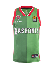 Away kit jersey green (Baskonia), 18/19 Baskonia_image