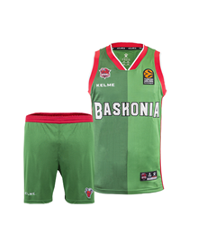 Junior Minikit Away kit green, 18/19 Baskonia_image