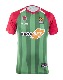 Away Shooting jersey green (Replica Player), 18/19 Baskonia_image