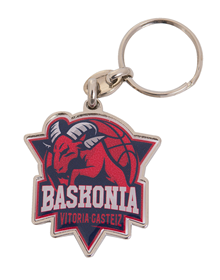 Keychain Baskonia shield with packaging_image