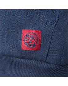 Woman Blue hoodie Baskonia's maroon shield _image