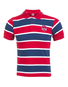 Polo shirt junior baskonia, azulgrana_image