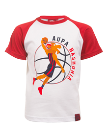 Aker's junior t-shirt red s/s baskonia_image