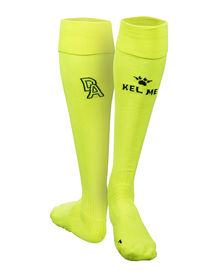 Third kit goalkeeper socks yellow, 18/19 D. Alavés_image