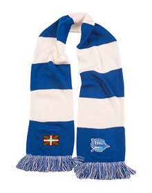 CLASSIC EMBROIDERED IKURRIÑA CREST SCARF DEPORTIVO ALAVÉS_image