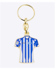 Home Jersey keychain, deportivo alavés_image