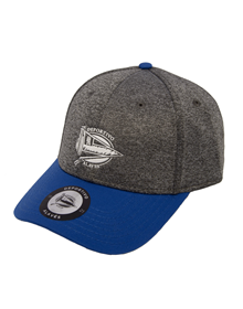 Grey cap shield white Deportivo Alavés_image
