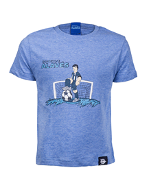 (Junior) Deportivo Alavés Player T-shirt, blue_image