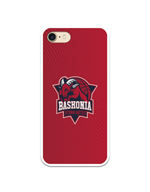 Flexible case red color and original crest Baskonia_image