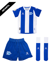 Child Home Minikit 19/20 Deportivo Alavés_image