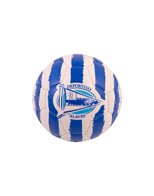 Deportivo Alavés Albiazul Stripes mini Ball _image