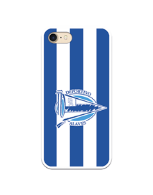 Flexible case half white & blue Deportivo Alavés_image
