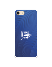 Flexible case blue fingerprint Deportivo Alavés_image