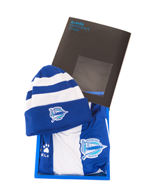 Gift Box Jersey + hat Deportivo Alavés_image