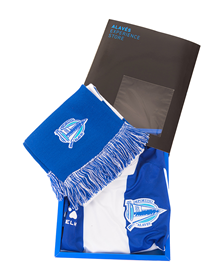 Gift Box Jersey + Scarf Deportivo Alavés_image