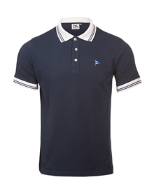 Polo shirt blue Da Originals_image