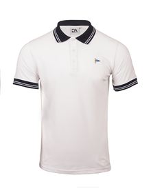Polo shirt white DA Originals_image