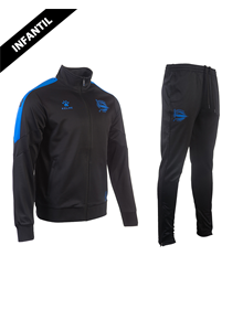 Tracksuit child official casual, Deportivo Alavés 19/20_image