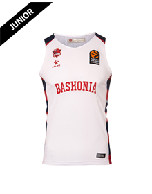 Away Junior Jersey white color, Baskonia Kit 20/21_image