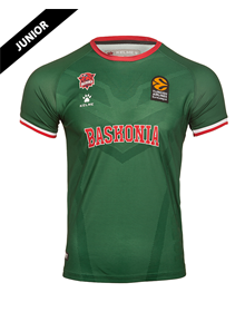 Shooting green junior jersey, Baskonia away Kit 20/21_image