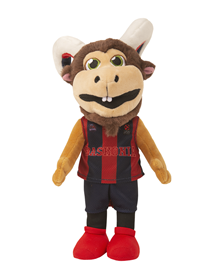 Baskonia Aker plush toy mascot_image