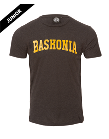 Baskonia junior MO grey t-shirt w/ golden letters _image