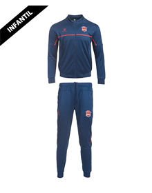 Baskonia kids official blue Tracksuit 20/21_image