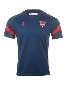 Baskonia official blue training T-shirt 20/21_image
