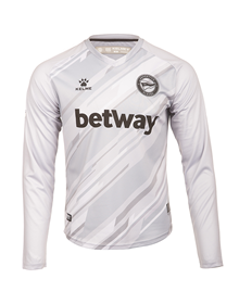 Away grey goalkeeper shirt, Deportivo Alavés 20/21 kit_image