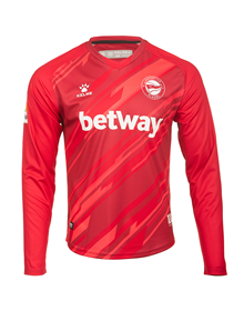 Deportivo Alavés  red Goalkeeper Jersey , 20/21 kit_image