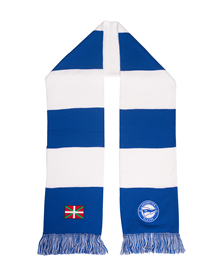 Deportivo Alavés classic stripped scarf new badge_image