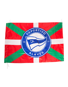 Deportivo Alavés ikurrina flag, badge 20/21  (135x90)_image