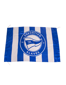Deportivo Alavés stripped flag new badge_image