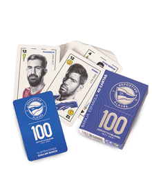 Deportivo Alavés 100 Aniversary deck of cards_image