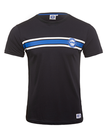 Deporitvo Alavés blue navy t-shirt blue and white chest stripes_image