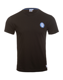 Deportivo Alavés plain Black t-shirt with new badge, MO 2_image