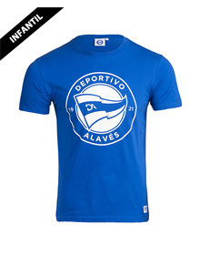 Deportivo Alavés kids big badge t-shirt _image