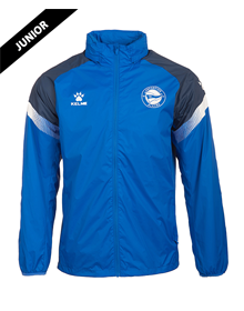 Deportivo Alavés blue junior raincoat 20/21_image