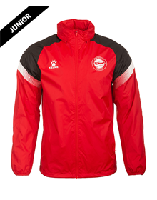 Deportivo Alavés red junior raincoat 20/21_image