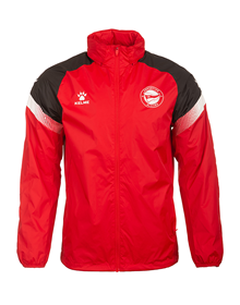 Deportivo Alavés red raincoat 20/21_image